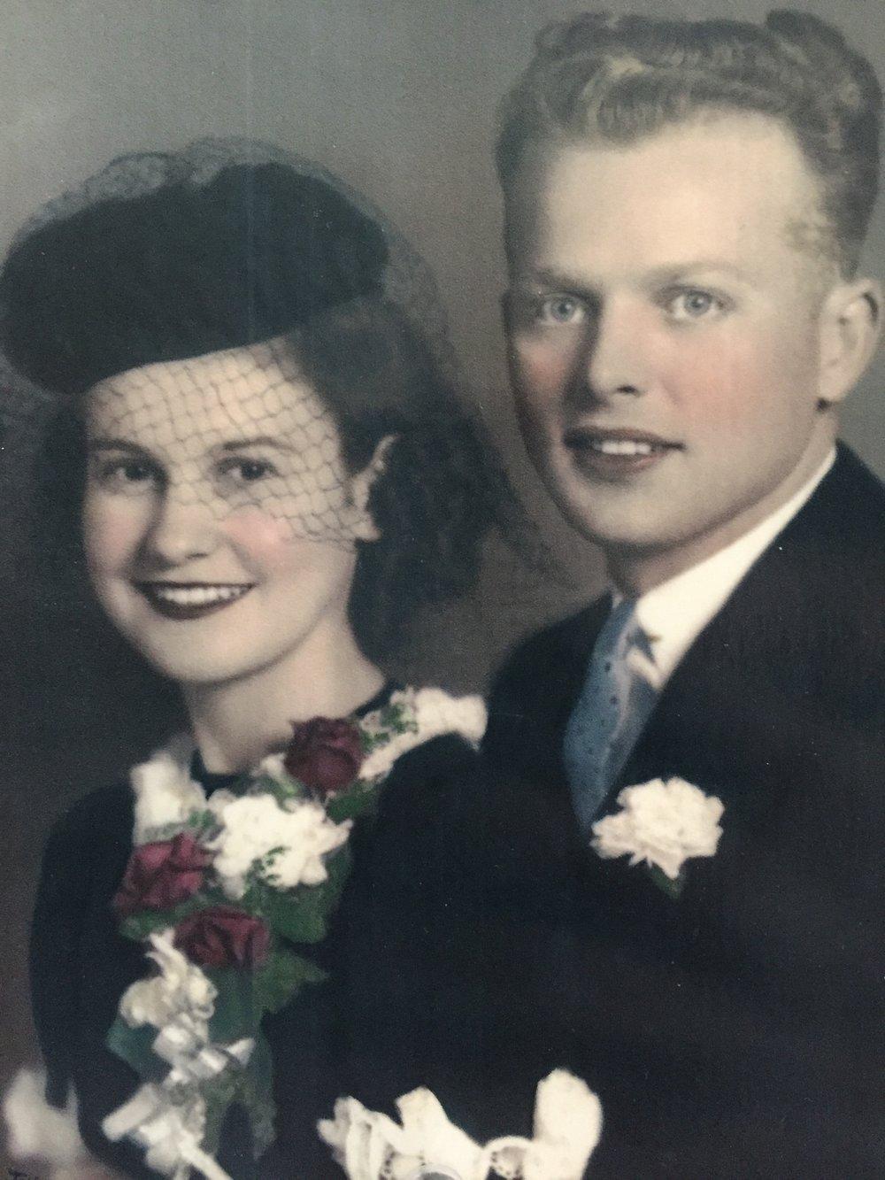Grandma and Grandpa Kaul