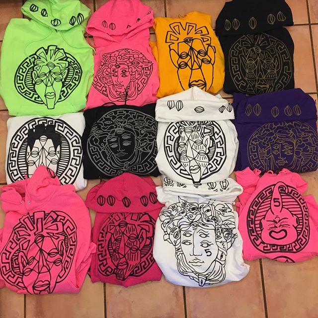These 12 hoodies will be dropping today at 5 PM pst on garypaintin.com !