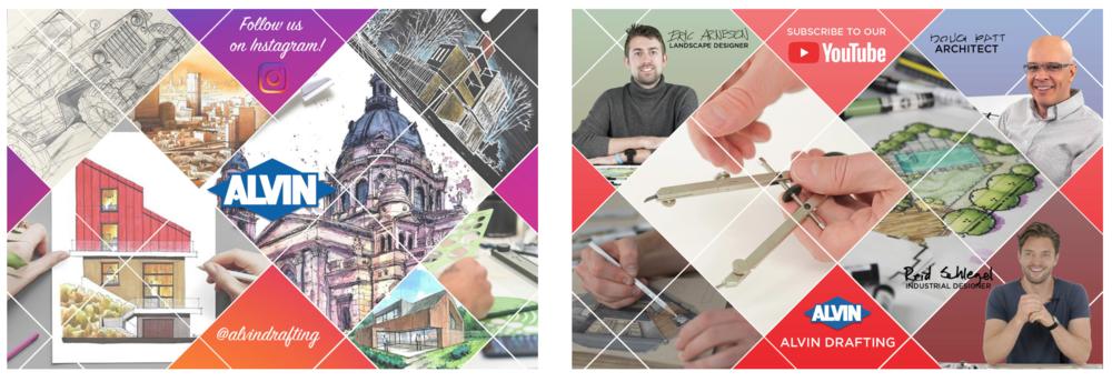 Promotional postcard design - Alvin & Co., Inc.