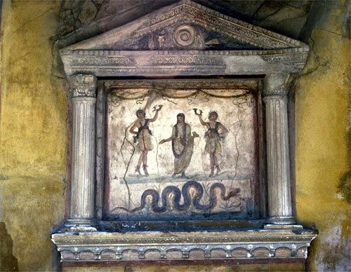 Roman Priestess, 1519 Antonio da Correggio, San Paolo, Parma