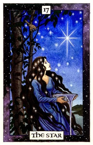 Tarot Star by Thalia Took
