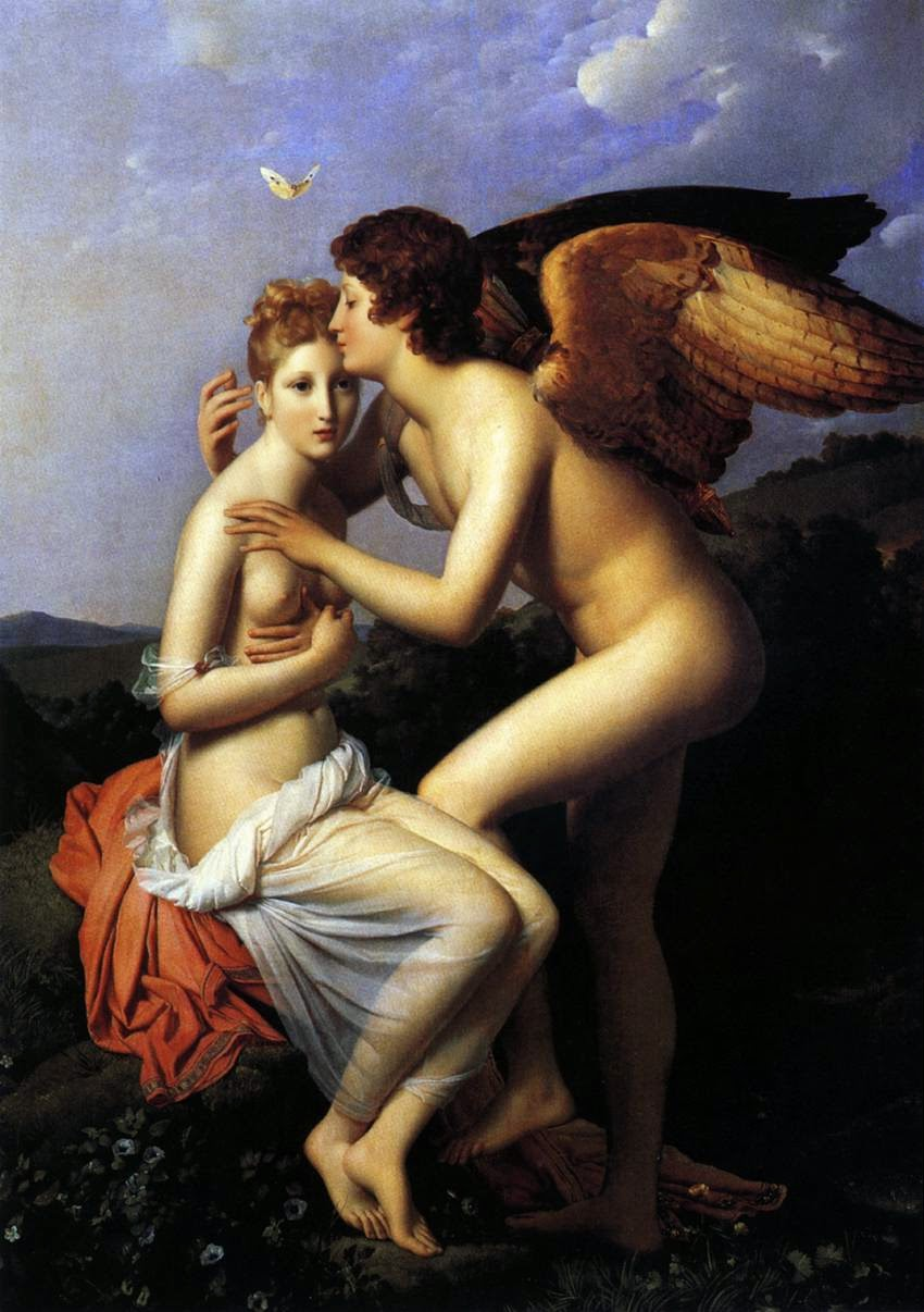 Psyche and Eros. Francois Gerard 1798