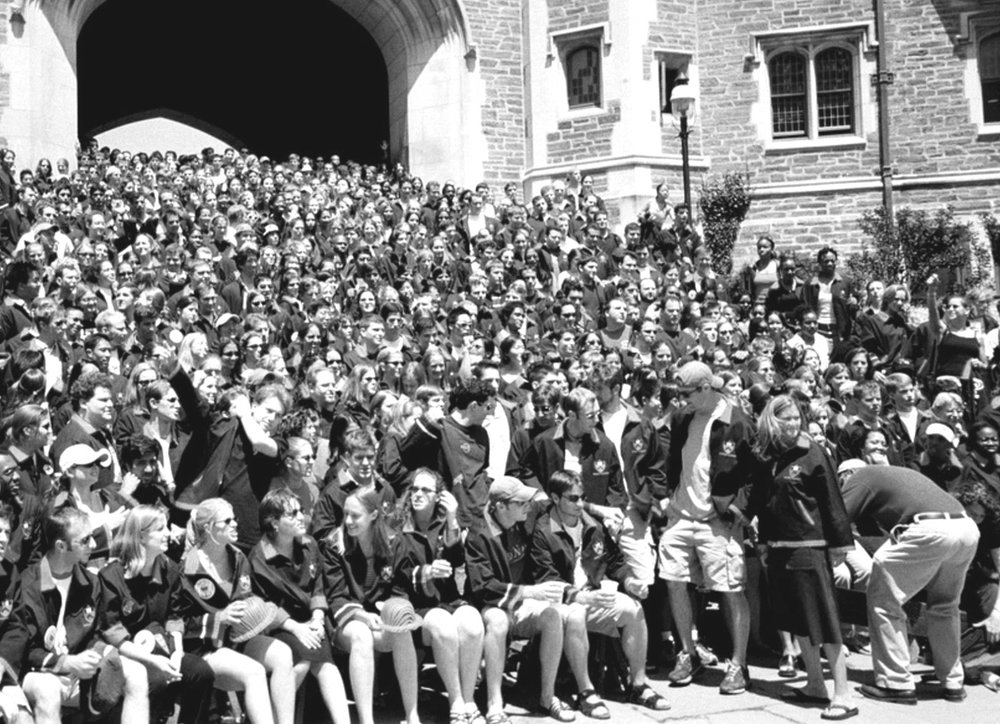 2002 Princeton class photo.