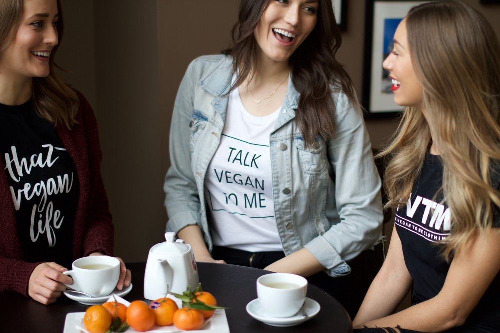 TALK VEGAN TO ME CLOTHING CALGARY ALBERTA
