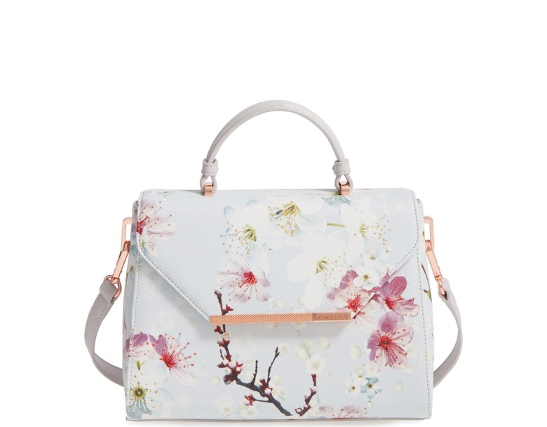 TED BAKER - Small Cherry Blossom Satchel