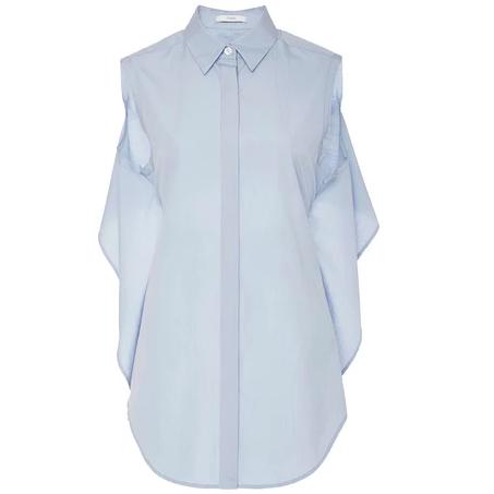 Tome Cotton Poplin Tie Back Shirt $395