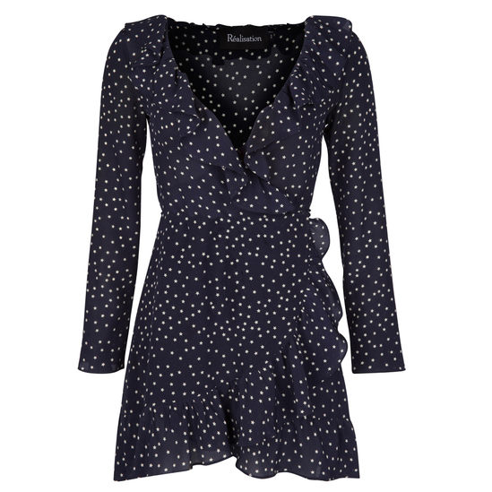 Realisation Par Alexandra Dress in Navy Star $195