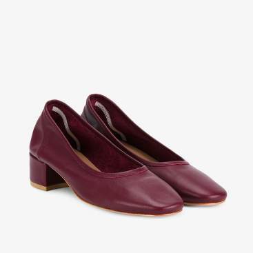 Maryam Nassir Zadeh Roberta Leather pumps $470