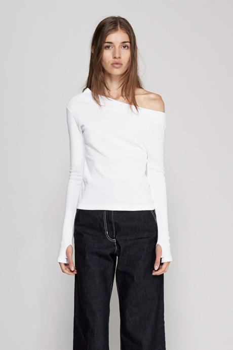 Jacquemus Le T-Shirt Une Epaule $180