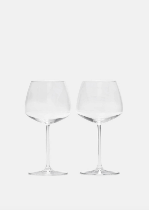 Nude White Wine Glass - Set of Two $32