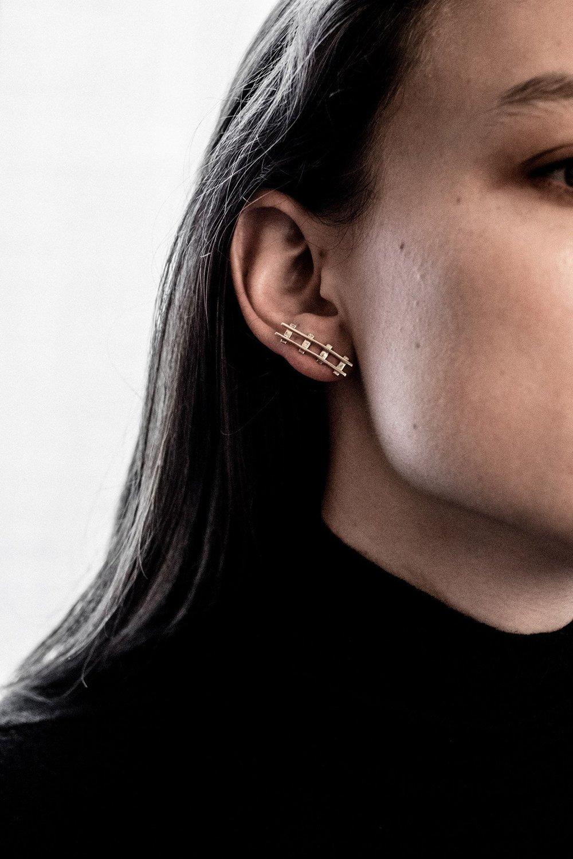 Natasha Schweitzer Elise Earring $520