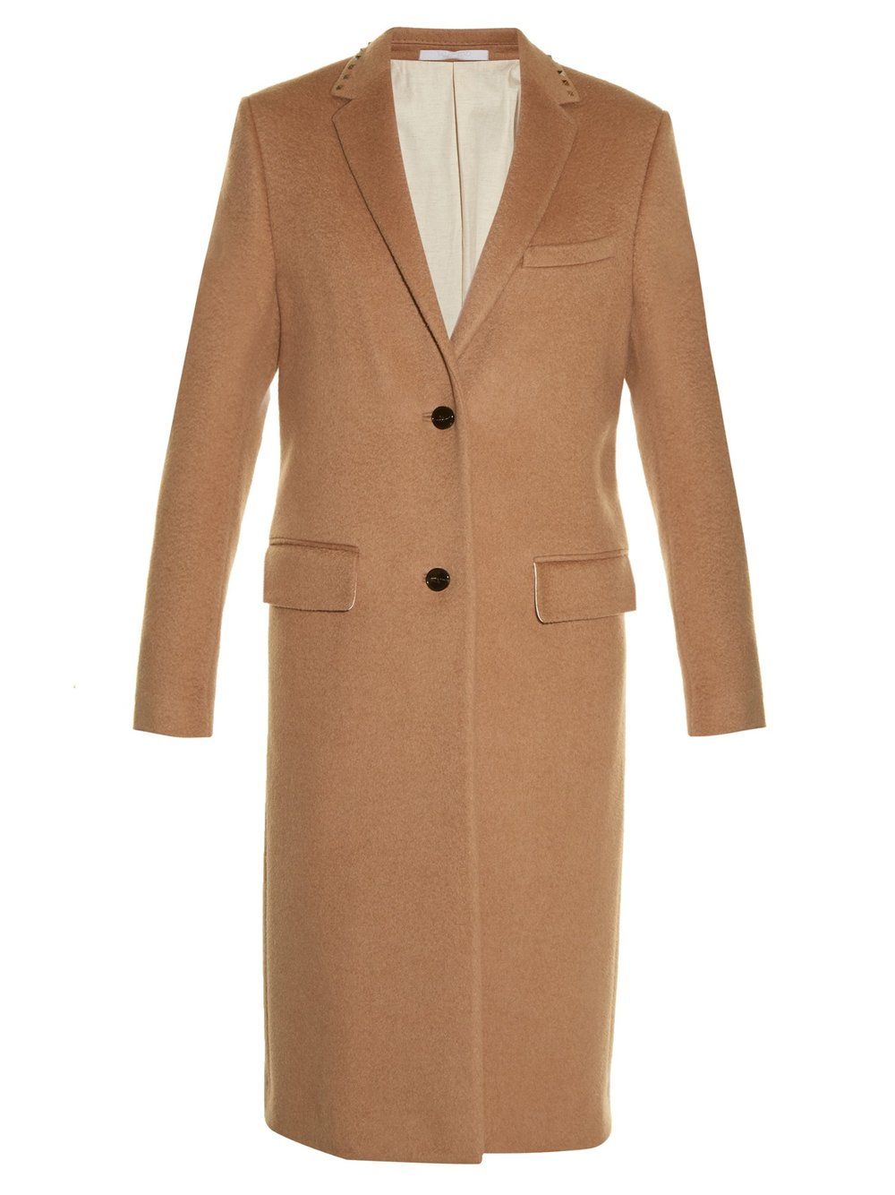 Valentino Rockstud Untitled #10 notch-lapel coat $8,000