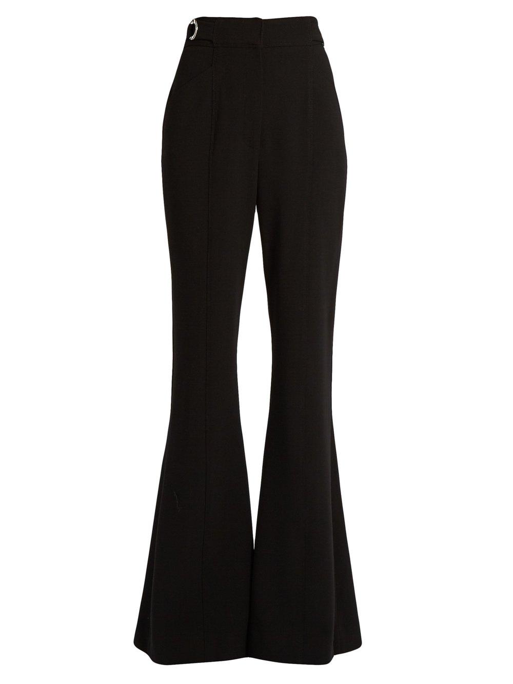 Proenza Schouler High-rise flared trousers $1,456