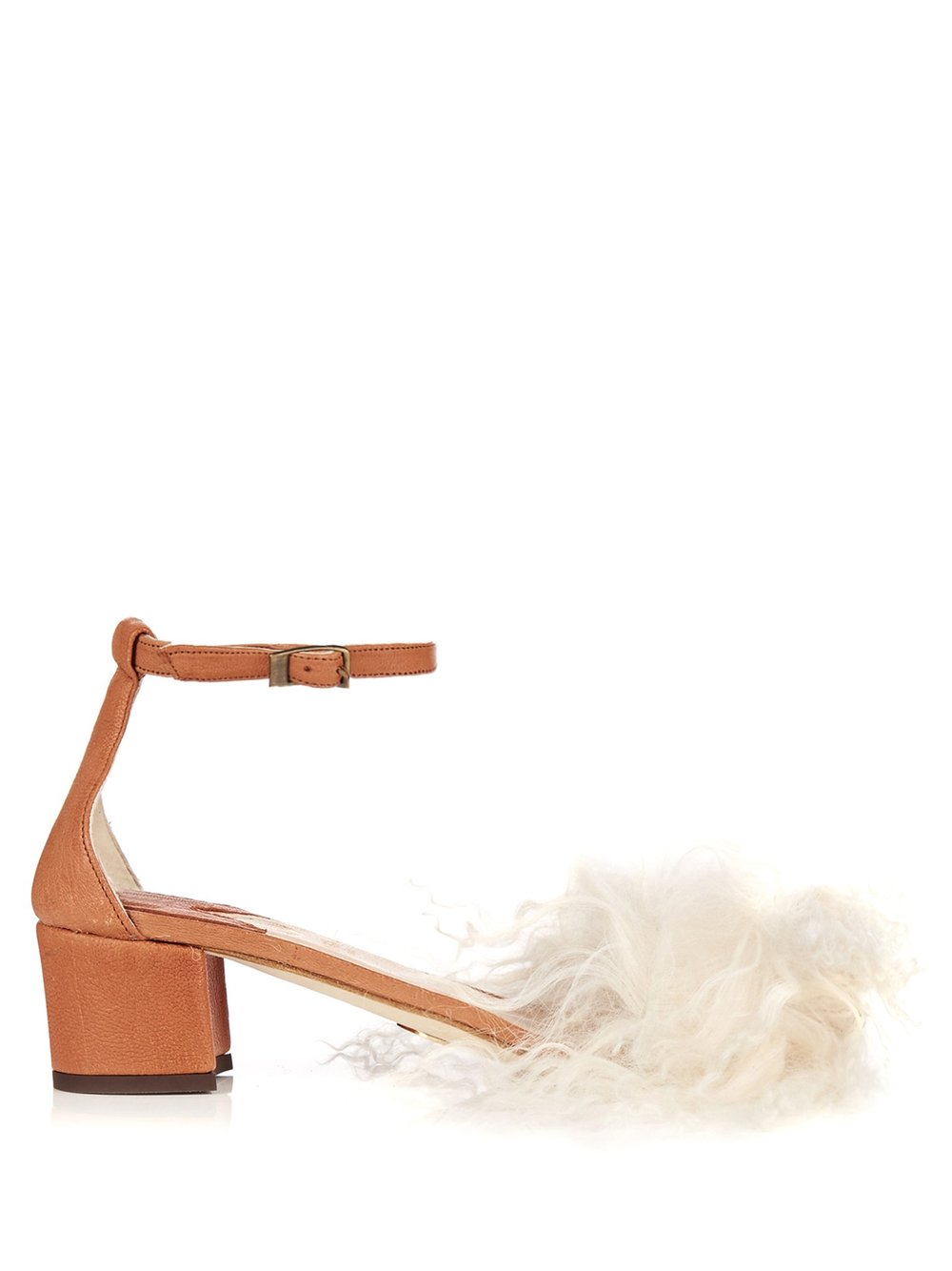 Brother Vellies Dhara curly-shearling sandals $856