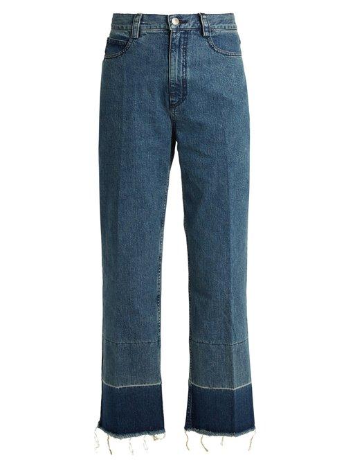 Rachel Comey Legion high-rise slim-leg jeans $505