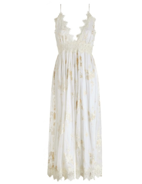 Zimmermann Tropicale Antique Jumpsuit $95