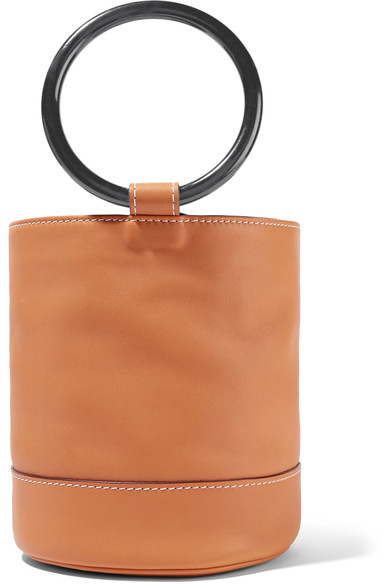 Simon Miller Bonsai leather bucket bag $908