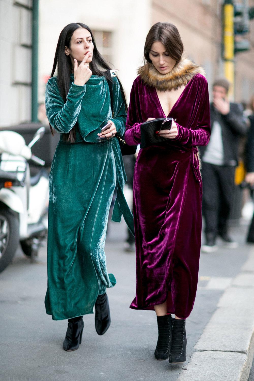 The Attico Jane Long Velvet Dressing Gown $995
