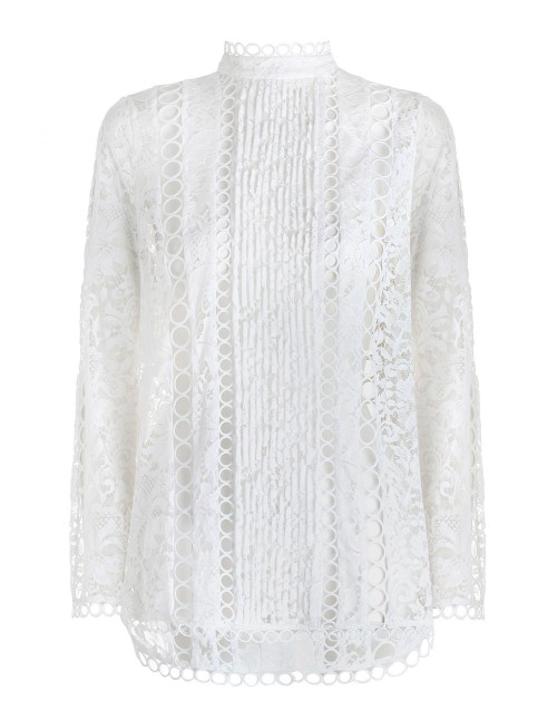 Zimmermann Winsome Breeze Lace Blouse $950