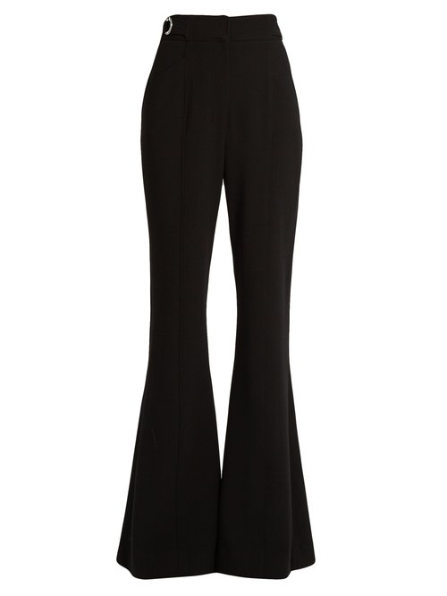 Proenza Schouler High-rise flared trousers $1,456