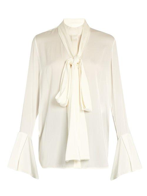 Ellery Little Me double-georgette blouse $1,656