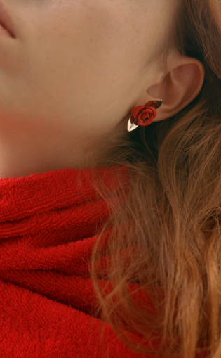 Trademark Rosebud Earrings $230 (pre order)