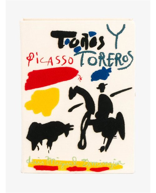 Olympia Le-Tan Toros y Toreros Picasso Book Clutch $1,695