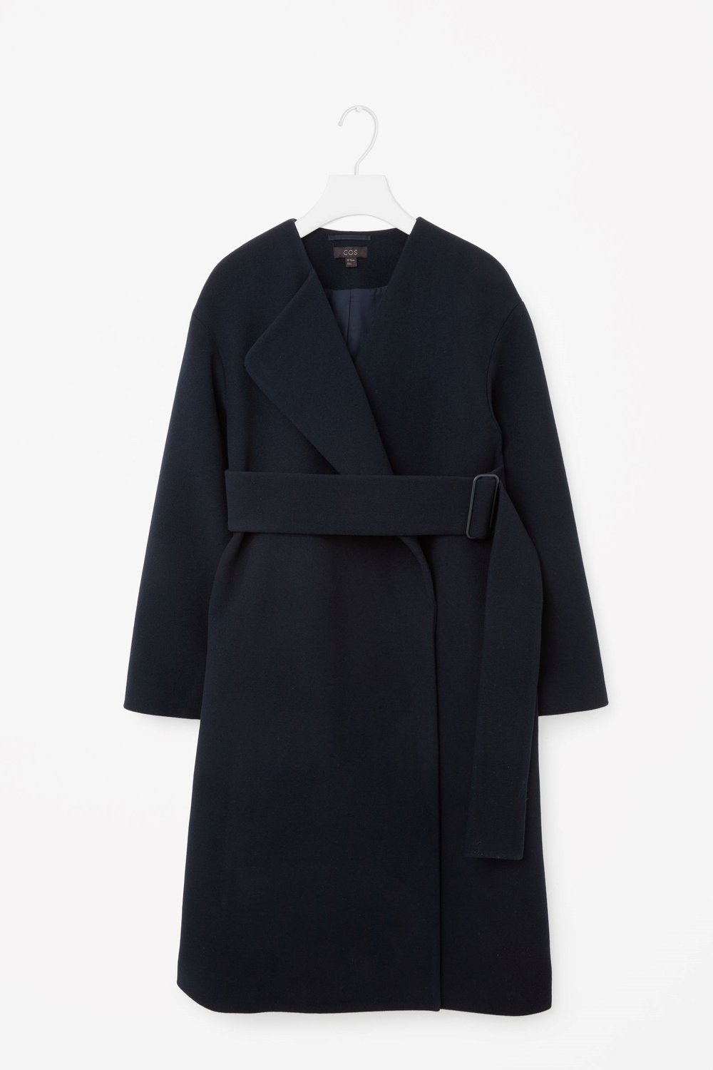 COS Coat with oversized belt $360