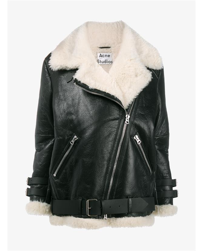 ACNE Studios Velocite shearling jacket $3,900