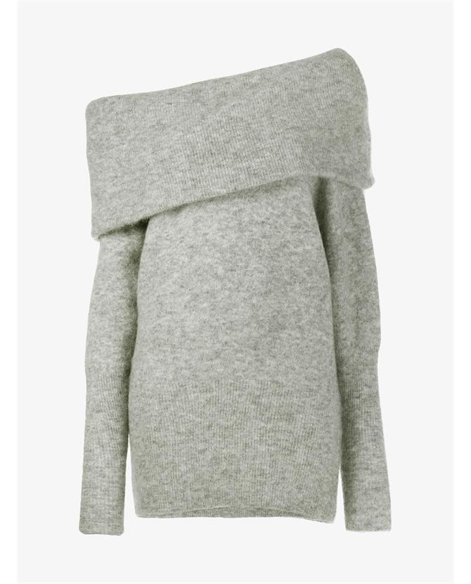 ACNE Studios Daze off-the-shoulder sweater $600