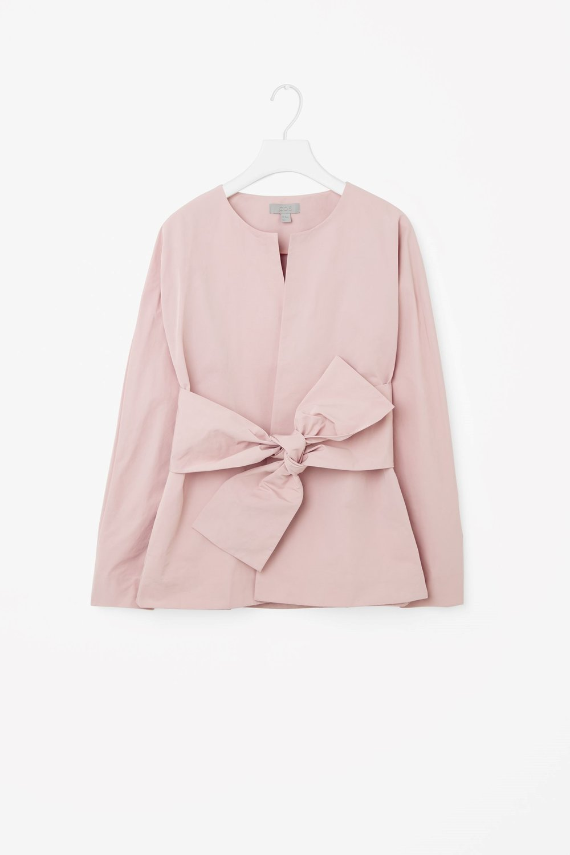 pink blazer cos