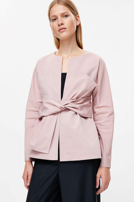 cos pink blazer