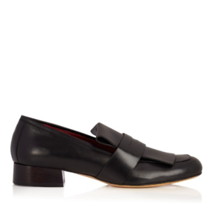 Ellery Dubois square-toe leather loafers $826