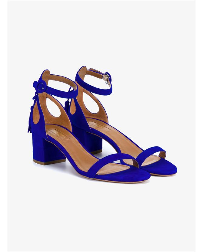 Aquazzura Pixie Block Heel Sandals $650
