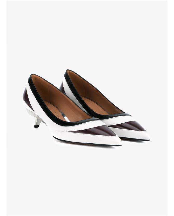 Marni Leather Mid Heel Pumps $1,165