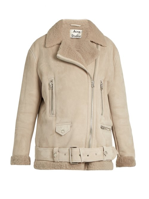 ACNE Studios More She Sue shearling jacket $3,419