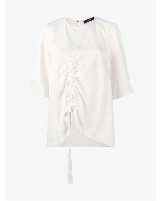 Ellery Riviera ruched crepe top $654