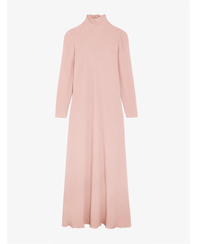 Valentino Silk-georgette turtleneck maxi dress $7,500