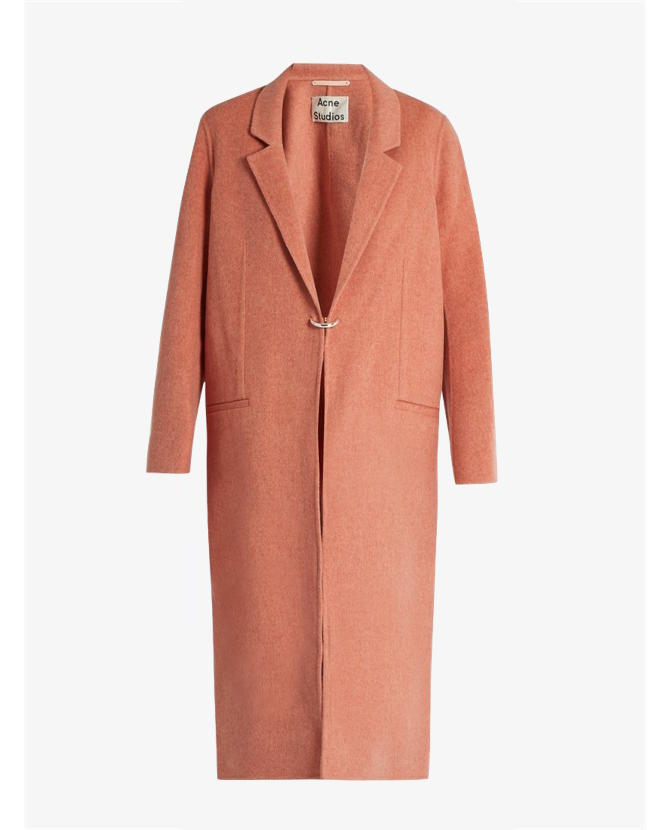ACNE Studios Foin Doublé wool and cashmere-blend coat $1,950