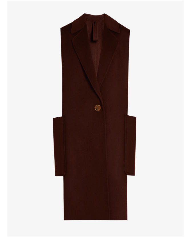 Helmut Lang Double-faced wool and cashmere-blend gilet $934