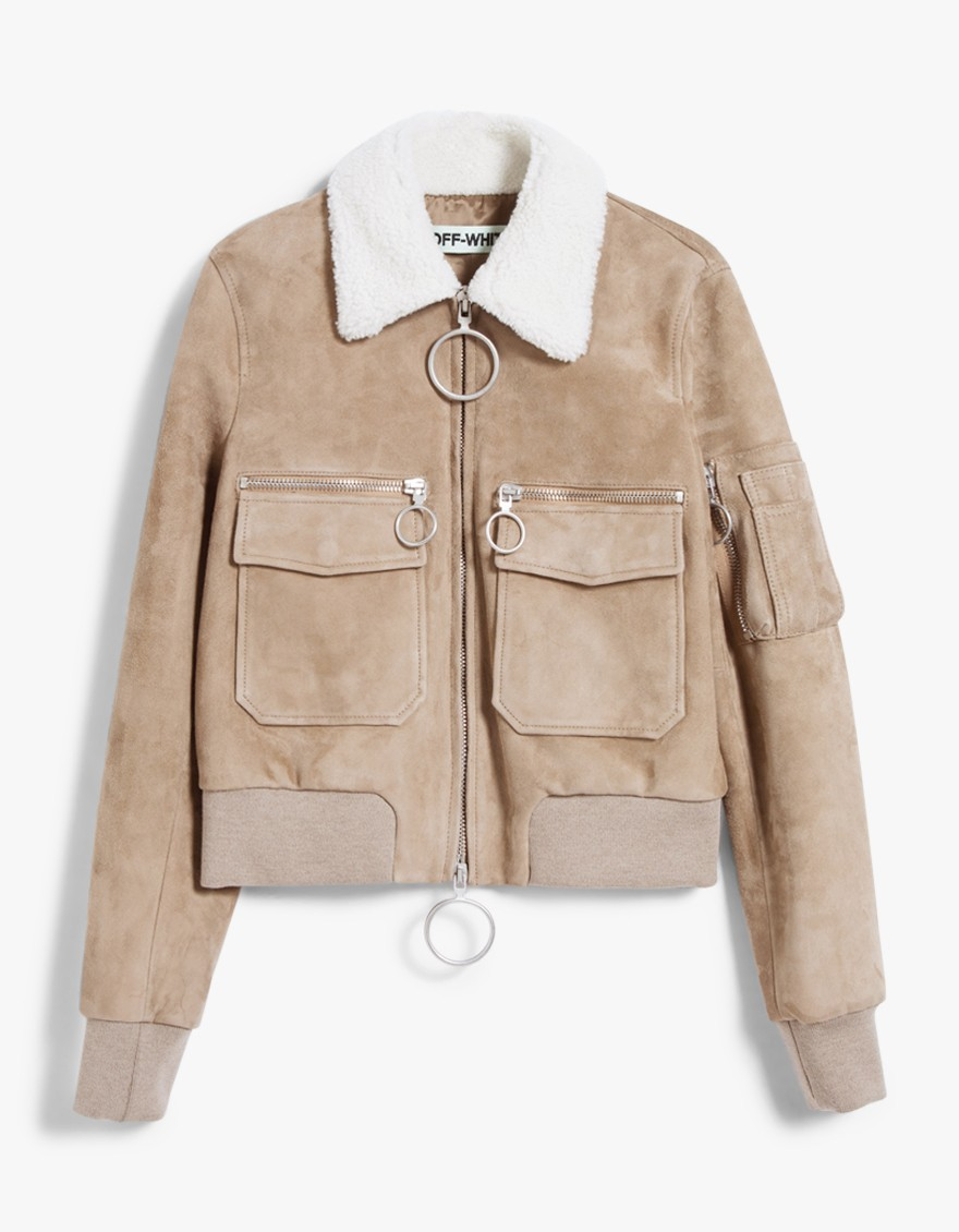 Off-White Aviator bomber jacket $1,526
