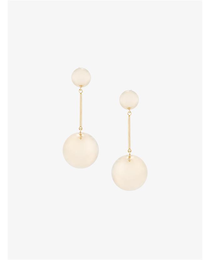 J.W.Anderson Sphere Drop Earrings $390