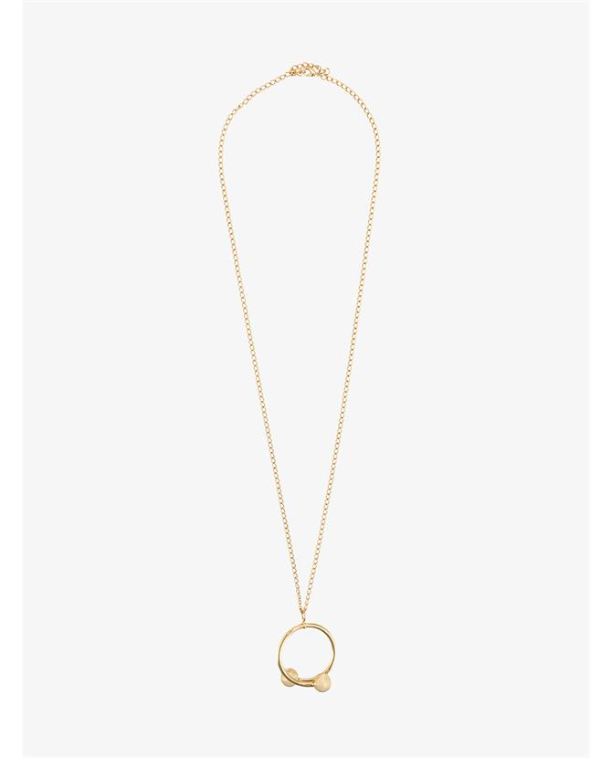 J.W.Anderson Double Ball Piercing Necklace $285