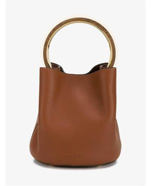 Marni Leather Bucket Bag $2,245