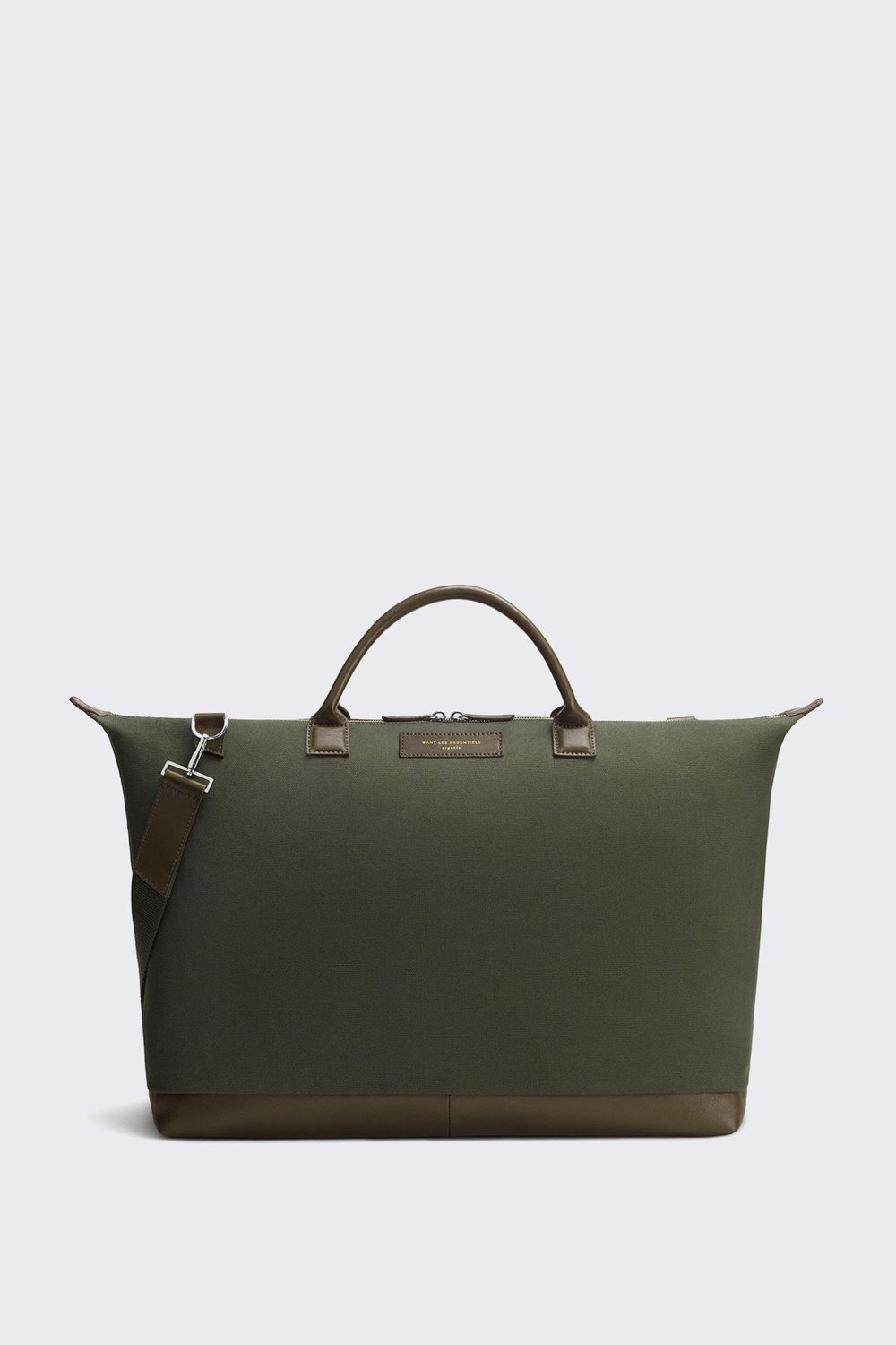 Want Les Essentials Hartsfield Weekender in Olive Green $730