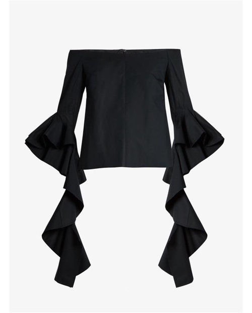 Ellery Delores off-the-shoulder cotton top $887