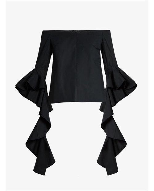 Ellery Delores off-the-shoulder cotton top $887