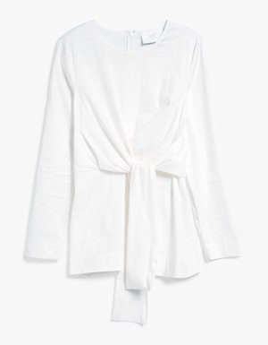 Just Female Sunday Blouse in White $116