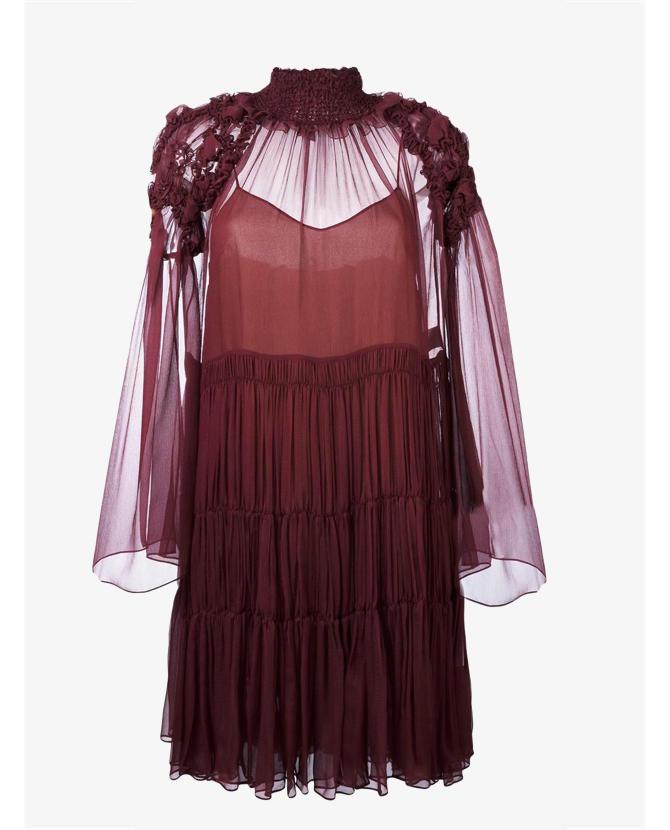 Chloe Tiered dress $4,254