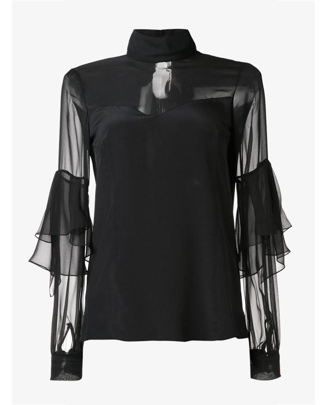 Prabal Gurung Sheer panel blouse $1,906